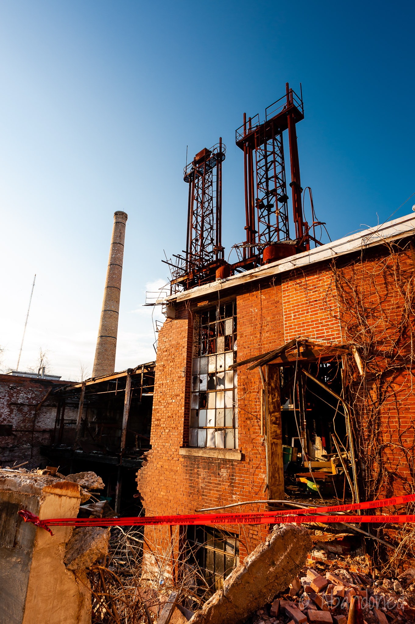 Parker Tobacco Company Demolition