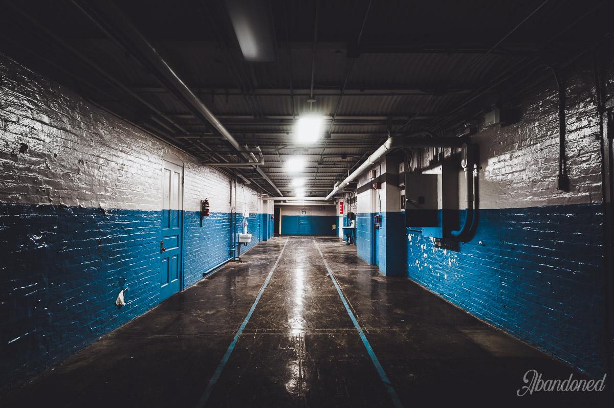 Windsor School Basement Hallway