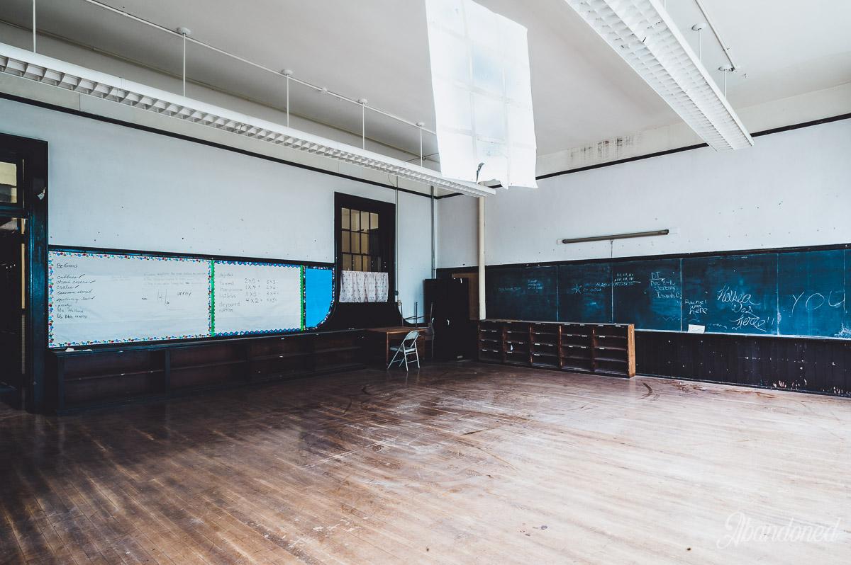 c. 1916 McKinley School Addition Classroom