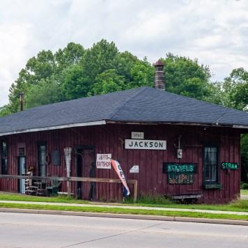 Detroit, Toledo & Ironton Railroad Jackson Depot