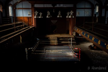 Blue Horizon Boxing Ring
