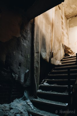 Corbin Municipal Hospital Stairwell
