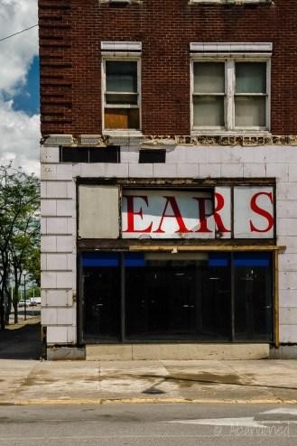 Millard Field Building - Sears Sign