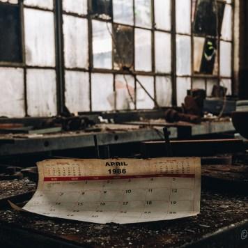 Discarded Calendar