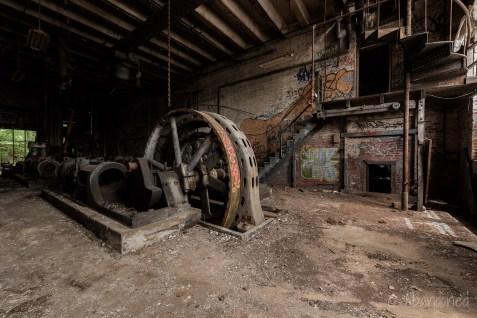 American Ice Company Engine Room