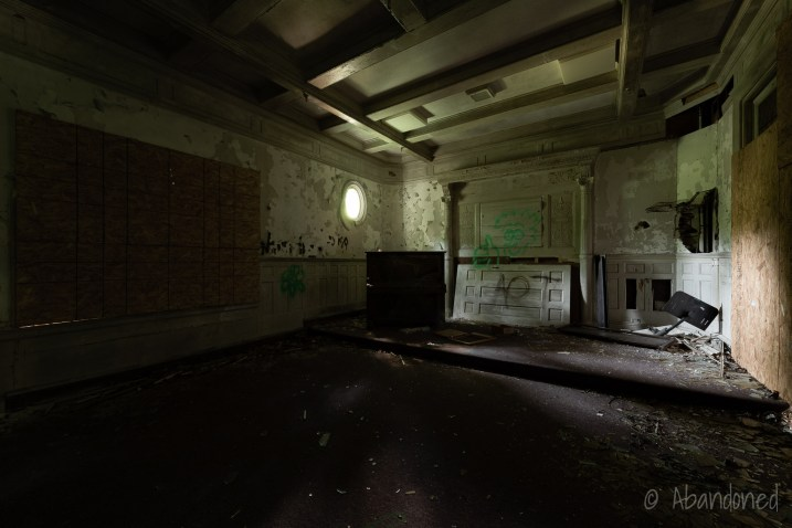 Uplands Deteriorated Interior Room
