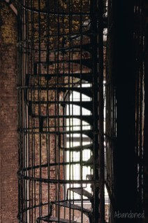 Ohio State Reformatory Cell Block Spiral Stairs