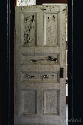 Medfield State Hospital Administration Building Door
