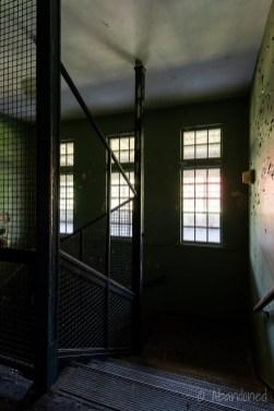 Medfield State Hospital Ward S Stairwell