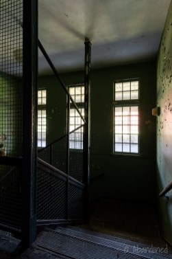 Medfield State Hospital Ward S Stairwell