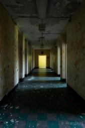 Medfield State Hospital Ward S Hallway