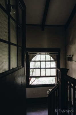 Fernald State School East Nurses' Home Stairwell