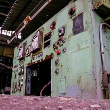 Fostoria Glass Machine