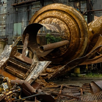 Buckeye Ordnance Works Power Plant Partial Demolition
