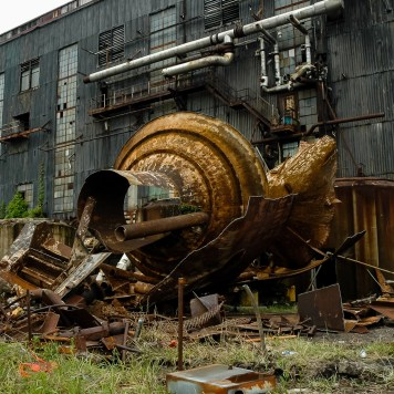 Buckeye Ordnance Works Power Plant Partial Demolition