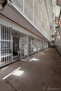 A Block and B Block at Brushy Mountain State Penitentiary