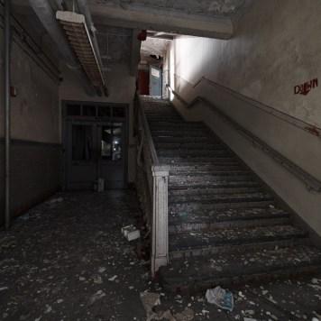 Lafayette-Bloom School Stairwell