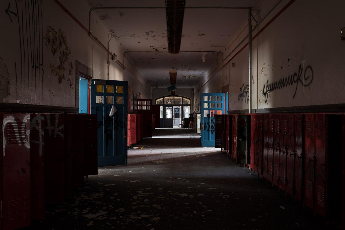 Lafayette-Bloom School Hallway