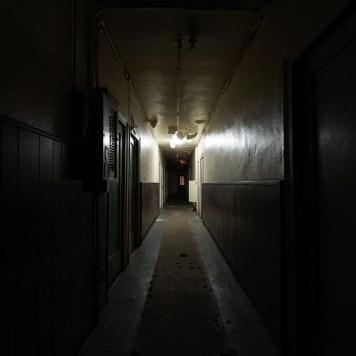 Dennison Hotel Hallway