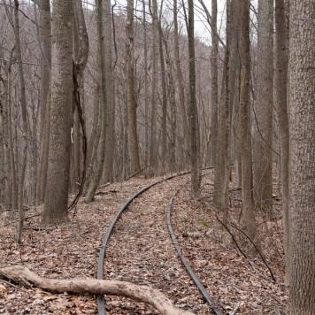 Tracks Near Sideling Hill Tunnel