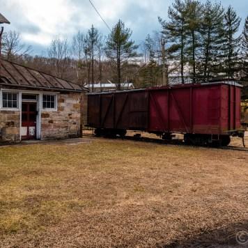 East Broad Top Railroad Boxcar