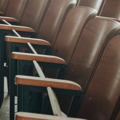 Mt. Sterling High School Auditorium Seat Detail