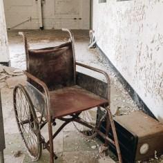 Derelict Wheelchair