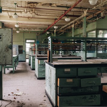 Inside Laboratory Building 706-3.