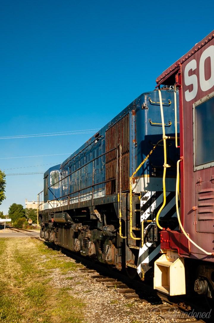 Bluegrass Railroad Locomotive