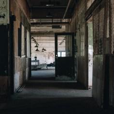 Inside the Knife Grinding & Die Shop Building 217-2.