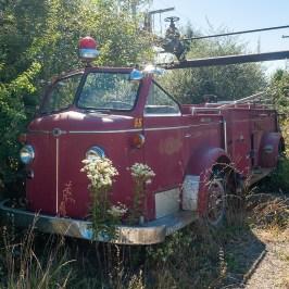 Abandoned Charlestown Firetruck