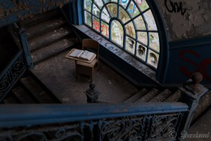 Immaculate Heart of Mary School Stairwell Detail