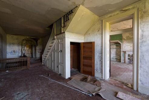 Poplar Hill Second-Floor Foyer