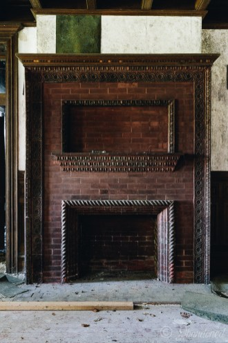 Poplar Hill Fireplace