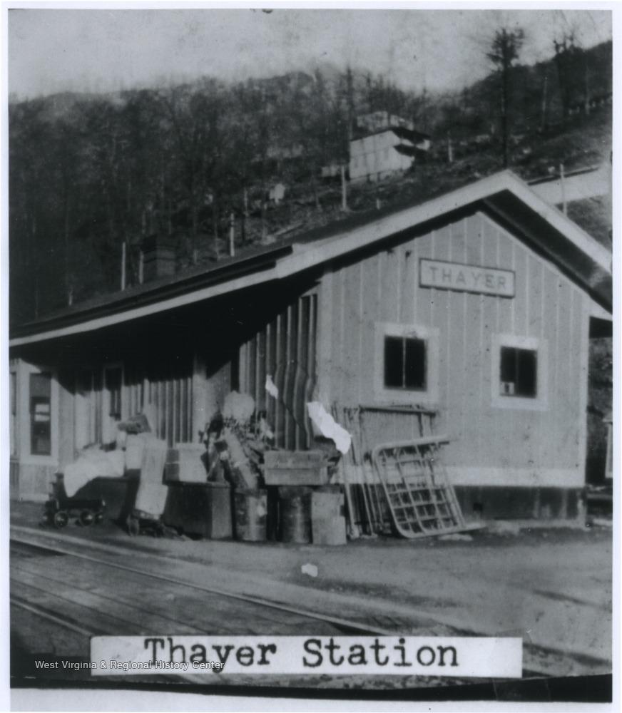 Train Depot in Thayer