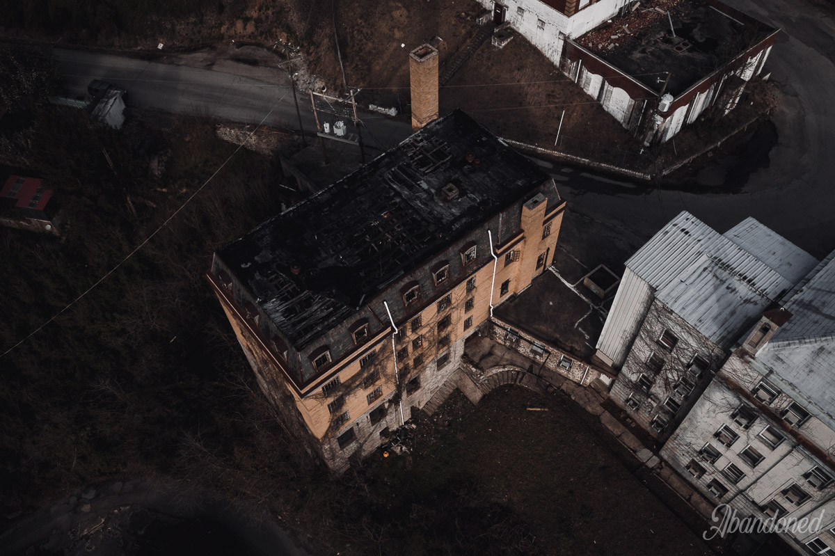 Nursing School and Williamson Memorial Hospital