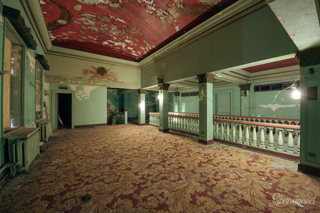 Columbia Theatre Second Floor Lobby