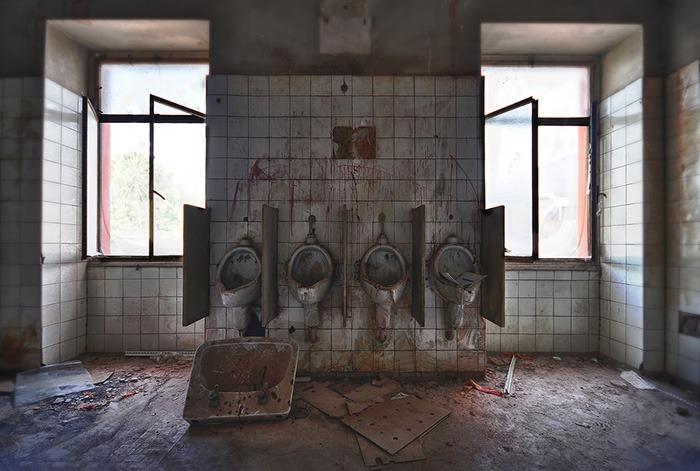 Escenarios Cine Hospital Torax Maquinista Lugares Abandonados Barcelona Abandoned Spain España Urbex