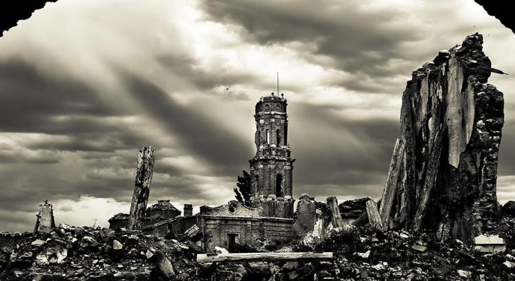 Belchite Lugares Abandonados Zaragoza Abandoned Spain España Urbex