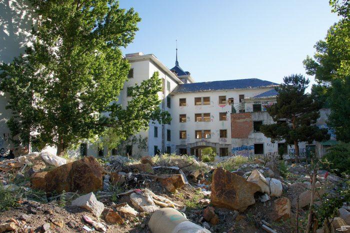 Sanatorio Psiquiatrico La Barranca Lugares Abandonados Madrid Abandoned Spain España Urbex