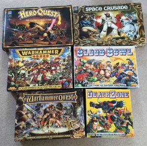 I got sucked into Heroquest and Space Crusade, before graduating to the more hardcore games. I sold a bunch of other games, but these are the ones I could never part with. Too many good memories.