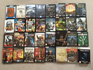 Dark Souls alone (bottom right) took me 12 months to complete. I don't have the gaming time I used to :'(