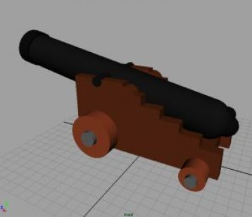 """This was the first thing I modeled for the game. It was """"good enough"""" for the prototype, and that's what is most important at this early stage."""