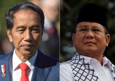 5 Survei Pilpres 2019 Jokowi dan Prabowo