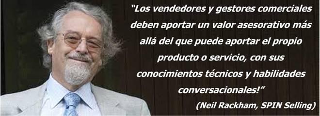 """9 Ideas Para Vender En Crisis: Entrevista A Neil Rackham, Autor De """"SPIN Selling"""" Y Referencia Mundial De La Venta Consultiva"""