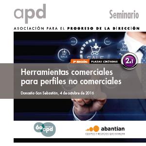 Taller De Herramientas Comerciales Para Perfiles No Comerciales. Seminario En APD Bilbao 10 De Mayo Del 2016