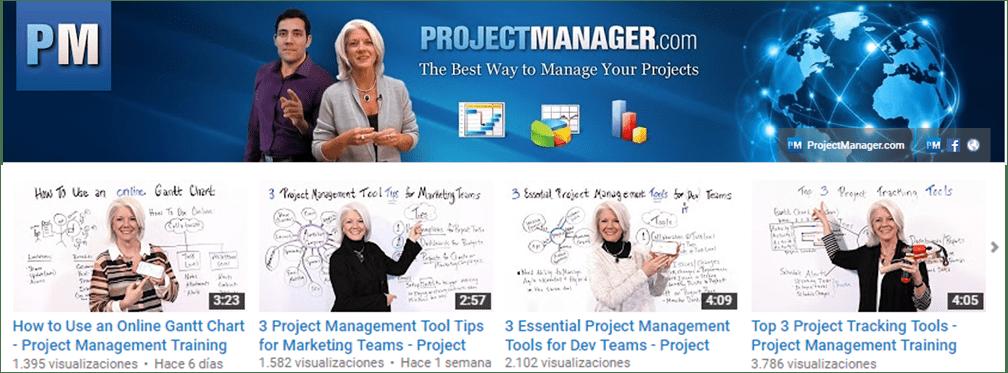 Canal YouTube Project Management Channel. Jeniffer Whitt Y Su Pizarra, Más De 100 Vídeos Cortos Sobre Gestión De Proyectos
