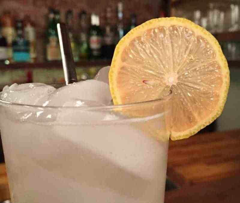 Pink Lemon Collins