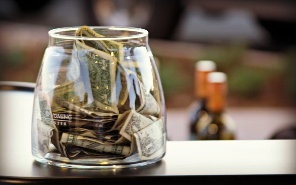 Seven Tips For Saving Your Tips A Bar Above