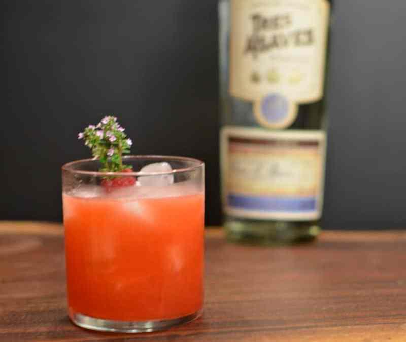 Raspberry Thyme Margarita